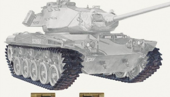 M41/42 Track (Articulated) 1/35 - AFV Club