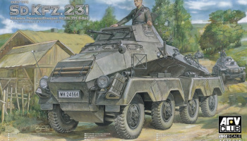 Sd.Kfz. 231 Early Type (1:35) - AFV Club
