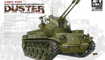 M42A1 DUSTER Early Type 1/35 - AFV Club