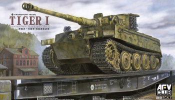 Pz.Kpfw VI Tiger Ausf.E (Transport Mode) 1/35 - AFV Club