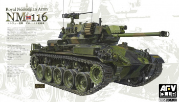 NM 116 Royal Norwegian Army 1/35 - AFV Club