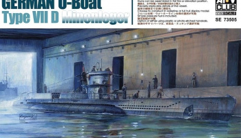 German U-Boat Type VIID Minenleger - AFV Club