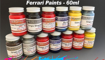 Ferrari/Maserati Blue Le Mans Mica 60ml - Zero Paints
