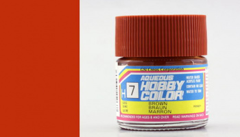 Hobby Color H 007 - Brown Gloss - Gunze