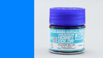 Hobby Color H 093 - Clear Blue - Gunze