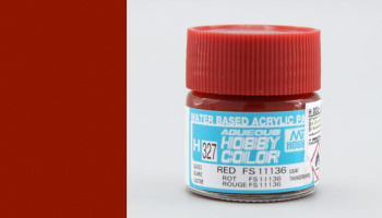 Hobby Color H 327 - FS11136 Red - Gunze