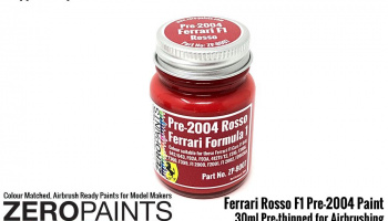 30ml Ferrari Rosso Formula 1 Pre-2004 - Zero Paints