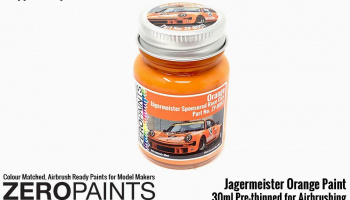 30ml Jagermeister Orange - Zero Paints