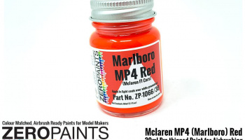 Mclaren MP4 (Marlboro) Red Paint 30ml - Zero Paints