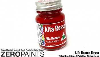 Alfa Romeo - Rosso (Red) Paint 30ml - Zero Paints