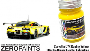Corvette C7R Racing Yellow Paint 30ml - Zero Paints