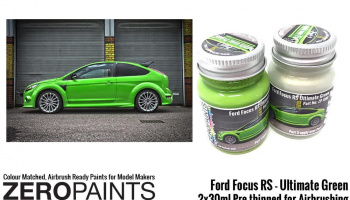 Ford Focus RS Ultimate Green Paint 2x30ml - Zero Paints