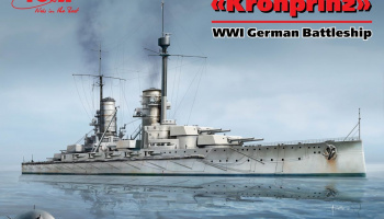 Kronprinz German Battleship 1:700 - ICM