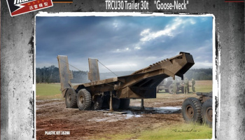 "British Scammell Pioneer TRCU30 Trailer 30t ""Goose-Neck"" 1/35 - Thunder Model"