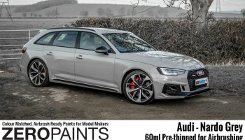 Audi RS - Nardo Grey Paint 60ml - Zero Paints
