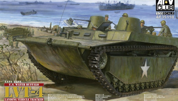 LVT-4 Water Buffalo (Late type) (1:35) - AFV Club