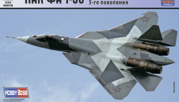 PAK FA T-50 Russian Aerospace Forces 5th-generation fighter (without resin parts) - ARK Models