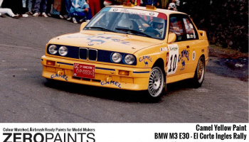 Camel Yellow for BMW M3 E30 60ml - Zero Paints