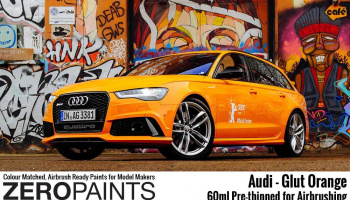 Audi RS - Glut Orange Paint 60ml - Zero Paints