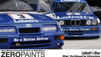 Labatt's Blue Paint 60ml (BMW M3, Ford Sierra RS500 Cosworth) - Zero Paints
