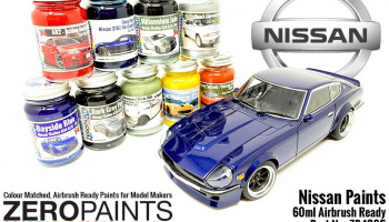 Nissan R35 GT-R - Gunmetal Metallic - Zero Paints