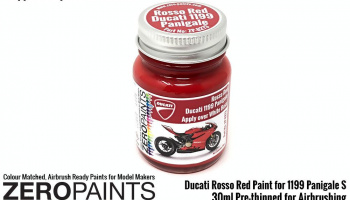 30ml Ducati Rosso Red Paint for 1199 Panigale S - Zero Paints