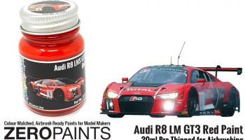 Audi R8 LM GT3 Red Paint 30ml - Zero Paints