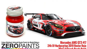 Mercedes AMG GT3 17 ADAC Total 24h Of Nurburgring 2019 Red Paint 30ml - Zero Paints