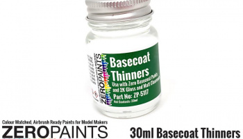 30ml Basecoat Thinners - Zero Paints