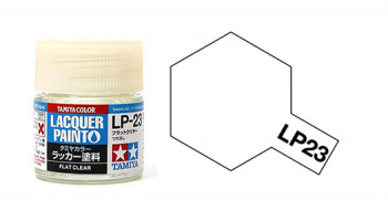 LP-23 Flat Clear 10ml - Tamiya