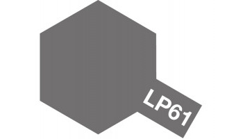 LP-61 - Metallic Gray 10 ml - Tamiya