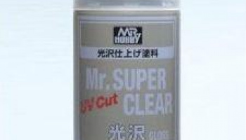 Mr.Super Clear UV Cut Gloss Spray - Gunze