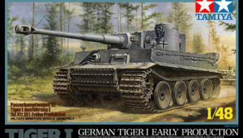 Tiger I Early Production 1/48 - Tamiya