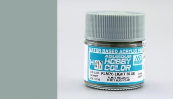 Hobby Color H417 - RLM76 Light Blue - Gunze