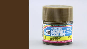 Hobby Color H404 - Khaki Brown - Gunze
