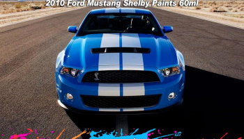 Ford Mustang Shelby 2010 Grabber Blue - 60ml  - Zero Paints