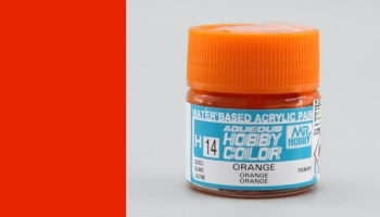 Hobby Color H 014 - Orange Gloss - Gunze