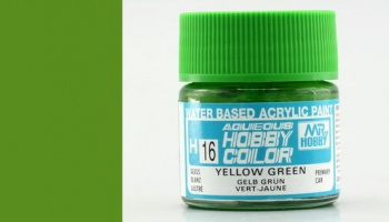 Hobby Color H016 Yellow Green - Gunze