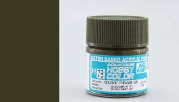 Hobby Color H078 Olive Drab 2 - Gunze
