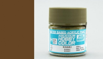 Hobby Color H081 Khaki - Gunze
