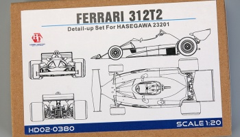 Ferrari 312T2 Detail-up Set For Hasegawa - Hobby Design