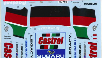Subaru Legacy RS #11 New Zealand 1990 for Hasegawa - Studio27