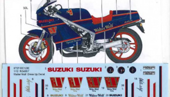 "Suzuki RG400Γ ""Walter Wolf"" Dress Up Decal for Hasegawa - Studio27"
