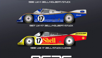 Porsche 962C Fulldetail Kit - Model Factory Hiro