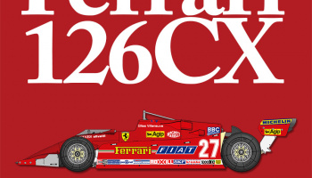 Ferrari 126CK / 126CX Fulldetail Kit - Model Factory Hiro