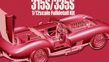 Ferrari 315S/335S Fulldetail Kit - Model Factory Hiro