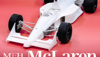 McLaren MP4/5B - Model Factory Hiro