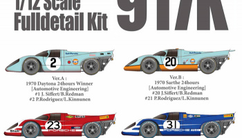 Porsche 917K Fulldetail Kit - Model Factory Hiro