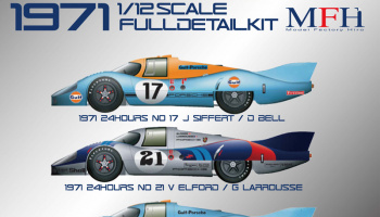 Porsche 917LH Fulldetail Kit - Model Factory Hiro