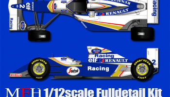 Williams FW16 Fulldetail Kit - Model Factory Hiro